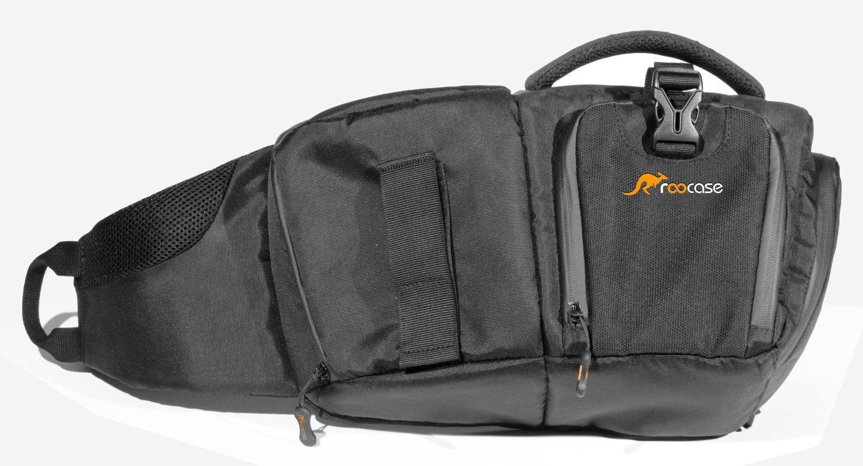 Camera Dslr Sling Camera Bag amazon com dslr sling camera bag roocase slign backpack for canon nikon sony and penta photo