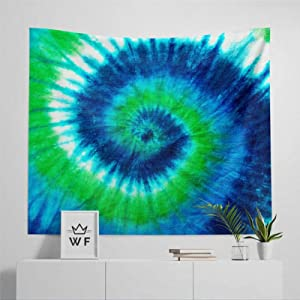 """DONL9BAUER Soft Wall Tapestry, Tie Dye Tapestry Hippie Tapestry Wall Decor All Season Wall Hanging Art Room Tapestries Throw Blanket for Couch, Sofa, Travel 50""""x60"""""""