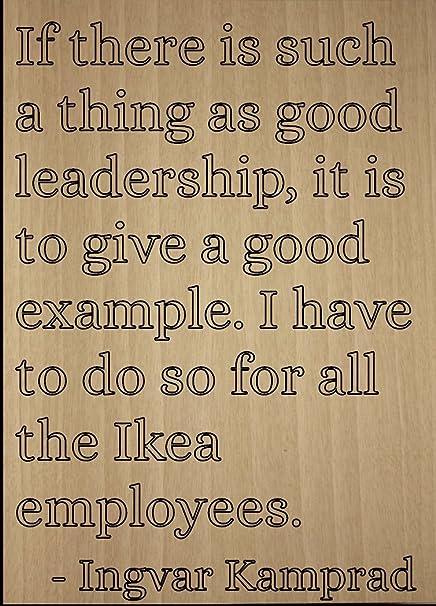 ingvar kamprad leadership style