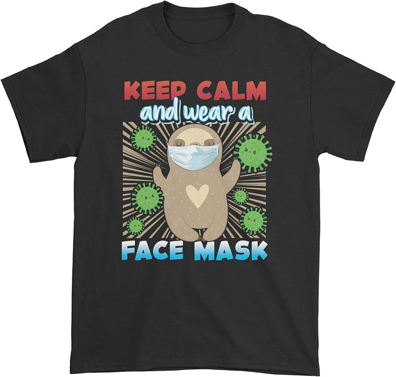 Sloth Keep Calm and Wear a FM T-Shirt
