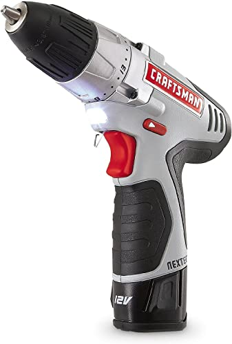 Craftsman N17586 NEXTEC 12.0V Lithium-Ion Drill Driver Kit