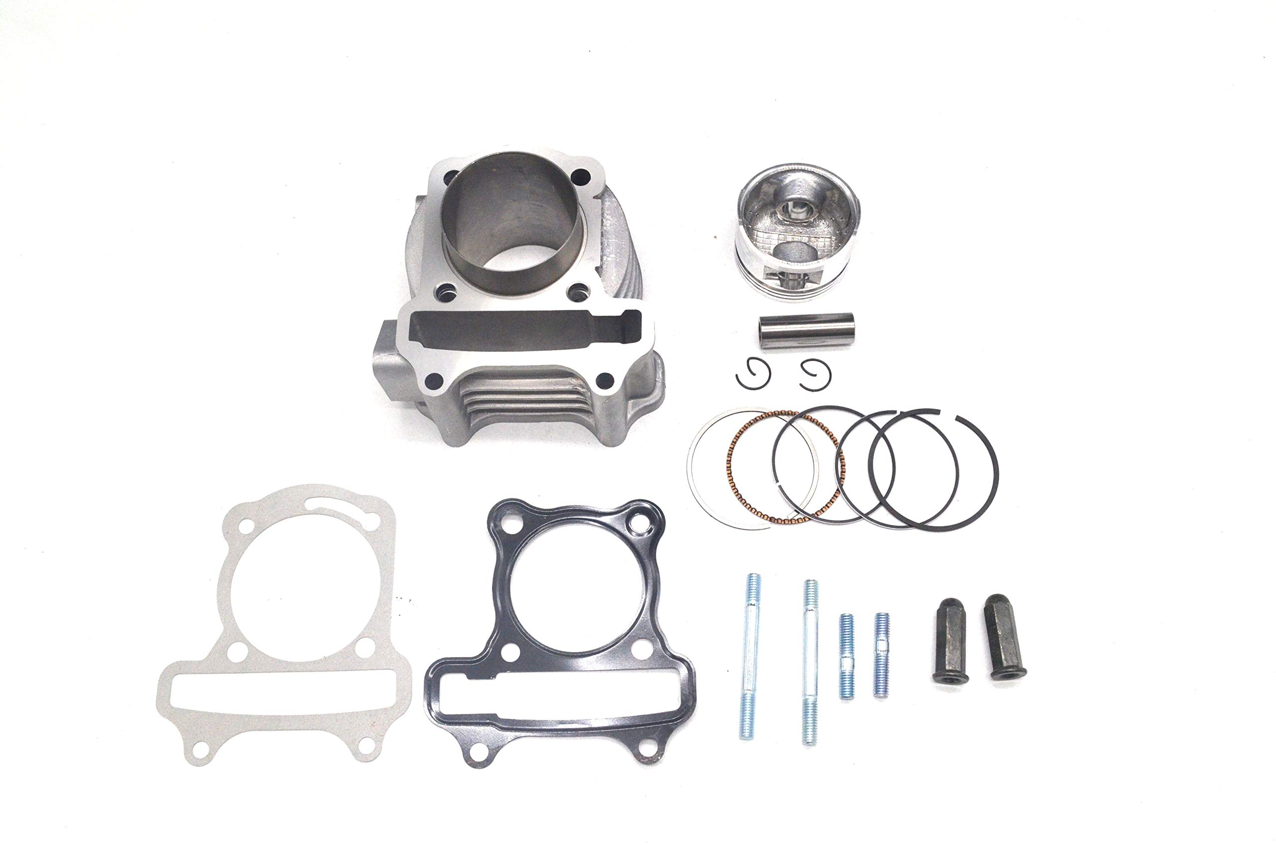 Chanoc 100cc Big Bore 50mm Cylinder Rebuild Kit for GY6 50cc ATV Moped Scooter 139QMA 139QMB by Chanoc