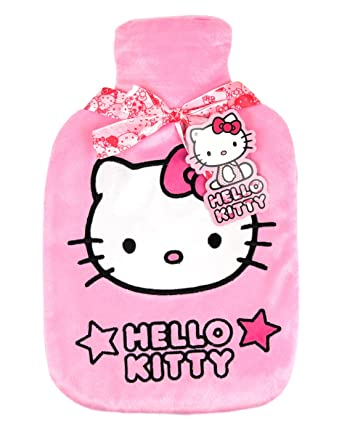 Amazon.com: Oficial de hello kitty bolsa de agua caliente y ...