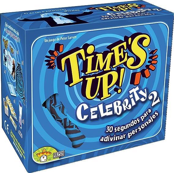 Asmodee - Times Up! Celebrity 2, Juego de Mesa (Repos TUP02ES): Amazon.es: Juguetes y juegos