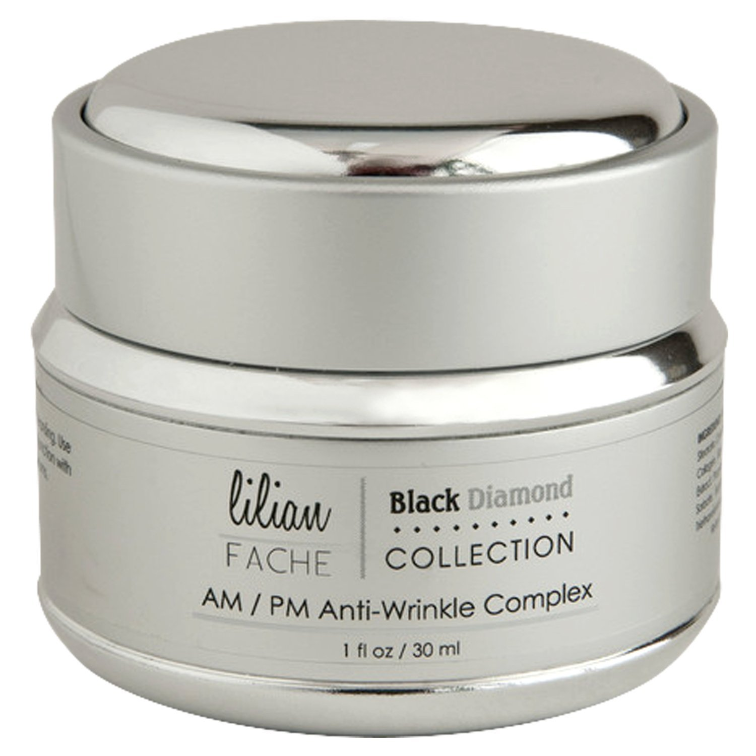 Amazon.com: AM/PM Face Moisturizer Anti-Aging Wrinkle Complex By Lilian Fache - Black Diamond Dust Infused - Skin Repair, Deep Wrinkle, Fine Line Correction ...