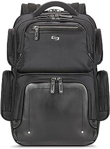 Solo Lexington 15.6 Inch Laptop Backpack, Black