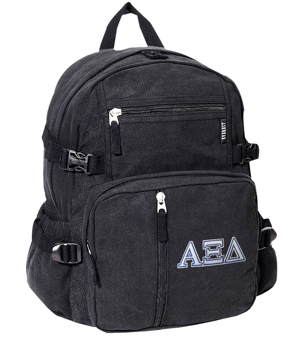 アルファXIバックパックキャンバスAxid Sorority学校や旅行バッグ   B01E7SJNB2