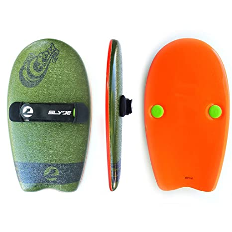 9328ef278d As Seen On Shark Tank! The Slyde Grom Soft Top Body Surfing  Handboard/Handplane, Easy to Use, Fun to Master, Safe for Kids, Portable,  Light Weight, ...