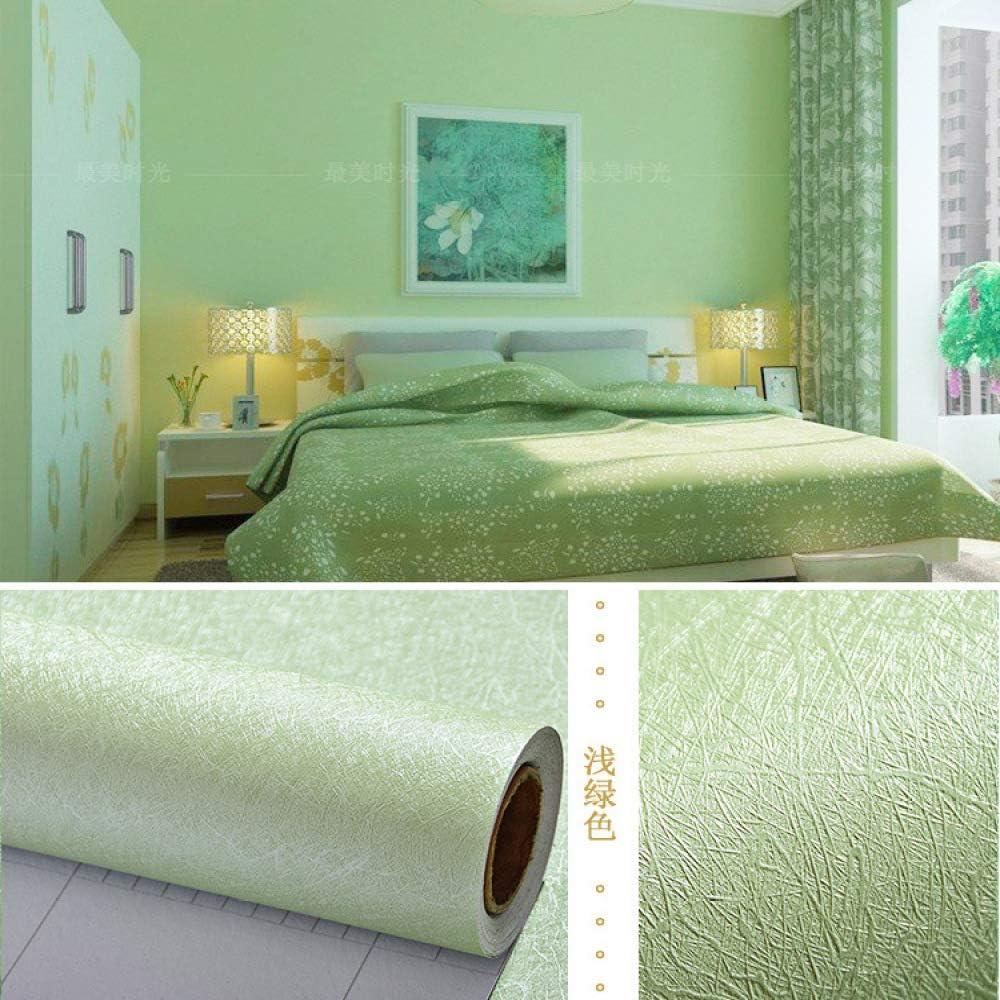 Papel pintado no tejido dormitorio color perla blanco puro moho pegatina de pared fuego papel pintado estéreo autoadhesivo patrón de piedra 0.6M * 3M 8716- seda seda 60 cm ancho / 3 m precio