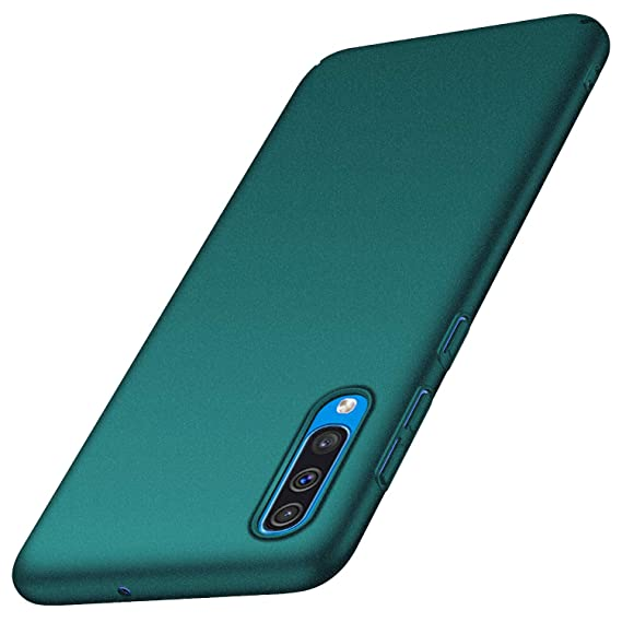 Anccer Compatible for Samsung Galaxy A50 Case [Colorful Series] [Ultra Thin Fit] Hard Slim Cover for Galaxy A50 (Gravel Green)