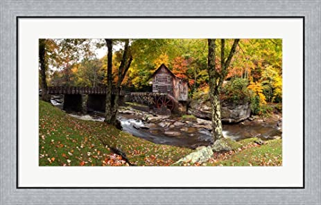 Amazon.com: Glade Creek Grist Mill, West Virginia by Panoramic ...