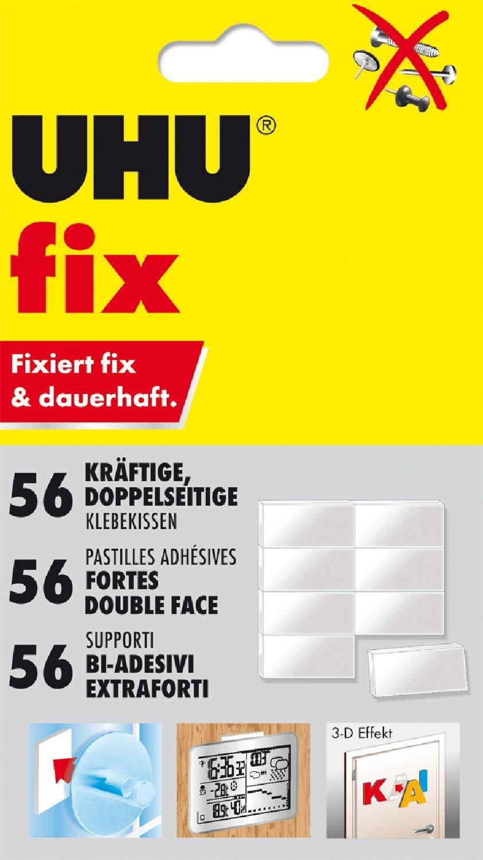Masilla adhesiva 80 unidades UHU 1648810 color blanco