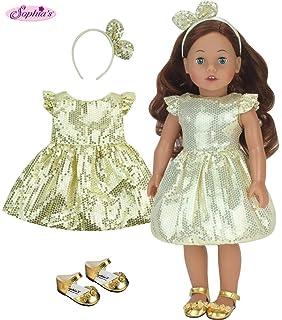 """Silver Kitten Heel Jeweled Flower Dress Shoes fits 18/"""" American Girl Dolls"""