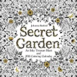 Secret Garden 2016 Wall Calendar: An Inky