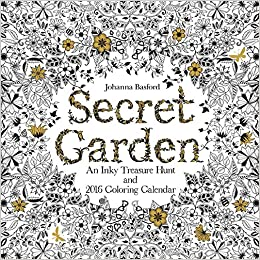Secret Garden 2016 Wall Calendar An Inky Treasure Hunt And Coloring Johanna Basford 0050837355279 Amazon Books