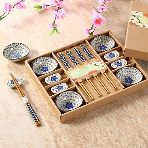 5 opinioni per Saflyse Set per sushi in stile giapponese, per una persona, senza tovagliette