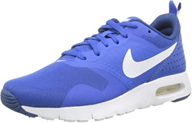 Nike Kids Boy's Air Max Tavas GS (Big Kid) Hyper CobaltDark Royal BlueWhite Sneaker