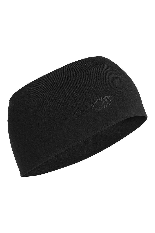 Icebreaker Chase la cinta para la cabeza, otoño/invierno, unisex, color Negro - negro, tamaño Talla ...