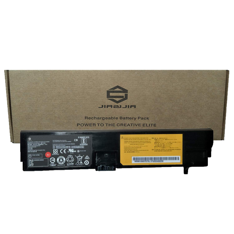 JIAZIJIA Compatible Laptop Battery with Lenovo 01AV418 [14.6V 41Wh 2810mAh 4-Cell] ThinkPad E570 E570C E575 Series Notebook 83 01AV417 SB10K97575 SB10K97574 4X50M33574 Black - 1 Year Warranty