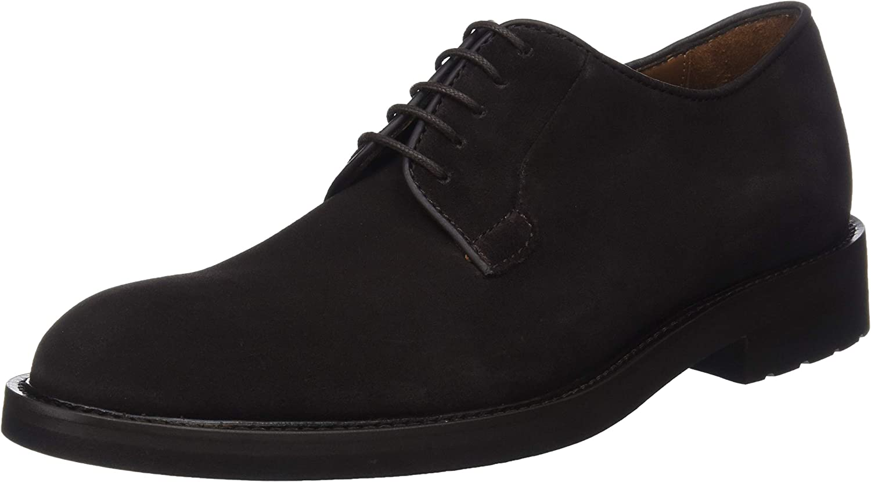 TALLA 44.5 EU. Lottusse L6692, Zapatos de Cordones Derby para Hombre