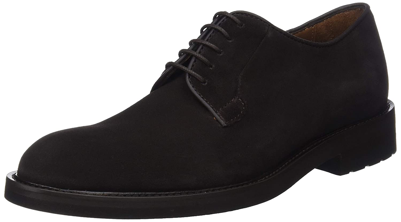 TALLA 45.5 EU. Lottusse L6692, Zapatos de Cordones Derby para Hombre