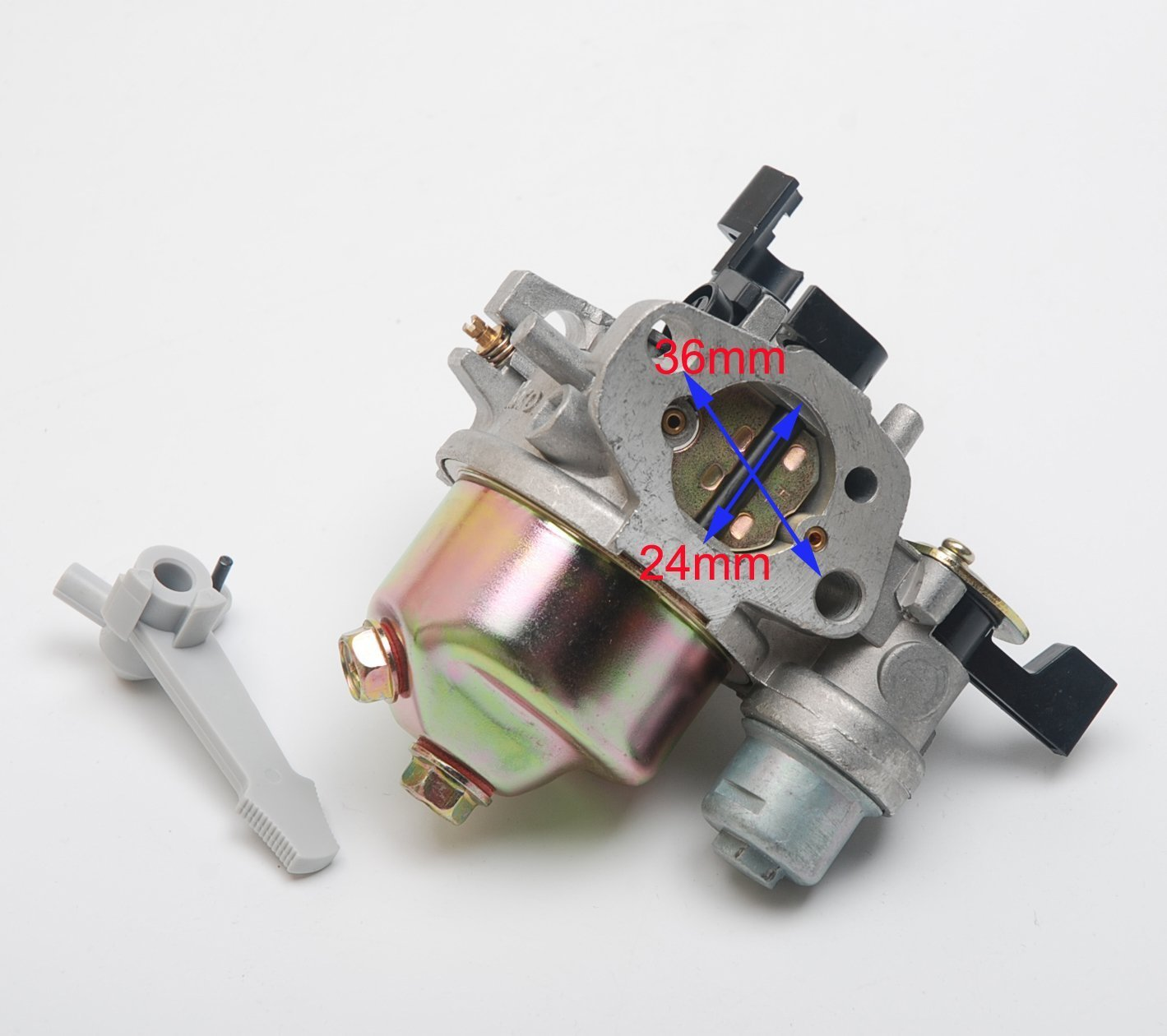 66014 66015 Carb Beehive Filter Ersetzen Vergaser f/ür Harbor Freight Greyhound 196CC 6.5HP Lifan Gas Engine