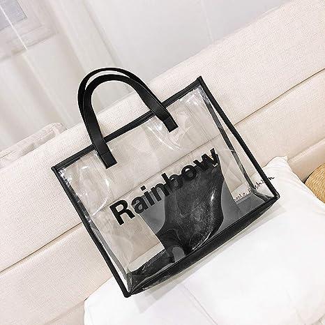 Bolsa de hombro de plástico para bolsa de cliente de PVC con ...