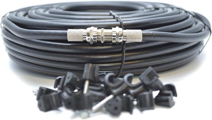 Generic - Cable coaxial para Ordenador portátil RG6 (Cable coaxial ...