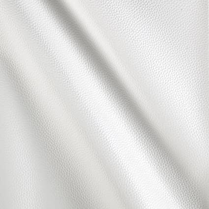 Amazon.com: Cabo Faux Leather White Fabric By The Yard