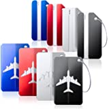 Luggage Tags Bag Tag Travel ID Labels Tag For Baggage Suitcases Bags8 Pack By Aootech