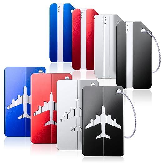 04a448f5749f Amazon.com | Luggage Tags, Bag Tag Travel ID Labels Tag For Baggage ...