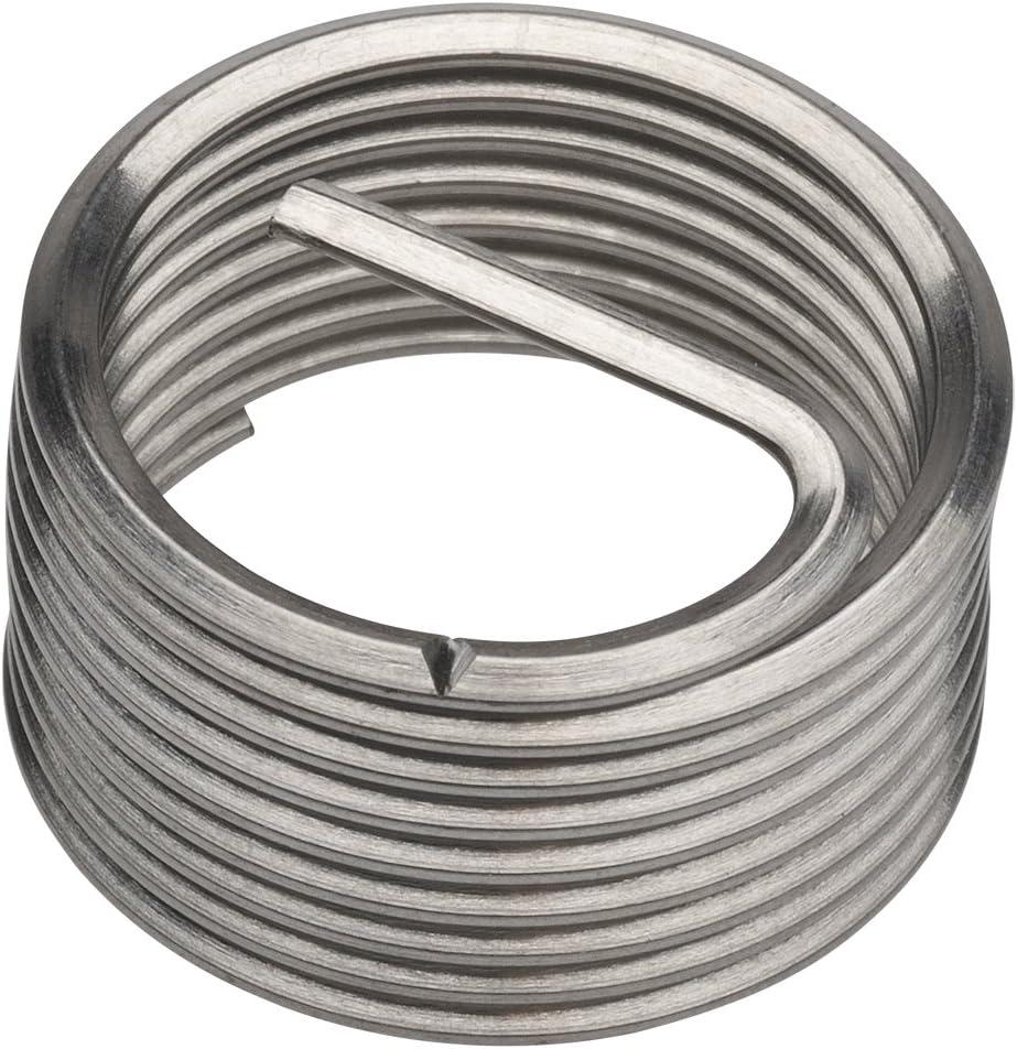 PowerCoil 3546-1//8X1.5DP BSP 1//8 x 28 x 1.5D Wire Thread Inserts 10 Pack