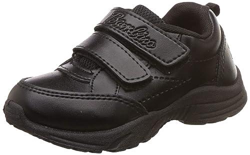 Black Formal Shoes-12 Kids UK