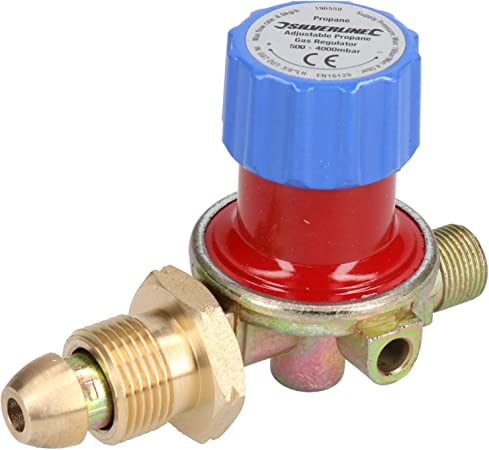 El regulador de gas propano Variable de 0,5 a 4 bar para ...