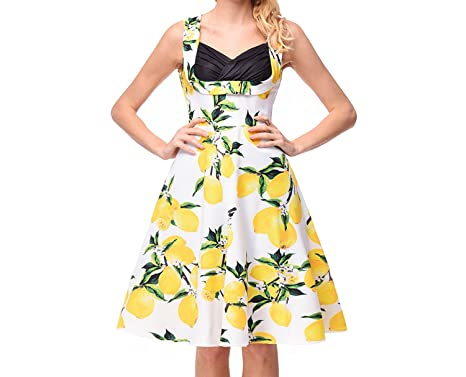 Small-shop dresses velocidad vende explosiones de Mujeres transfronterizas Vestido de tubo Estampado Hepburn,
