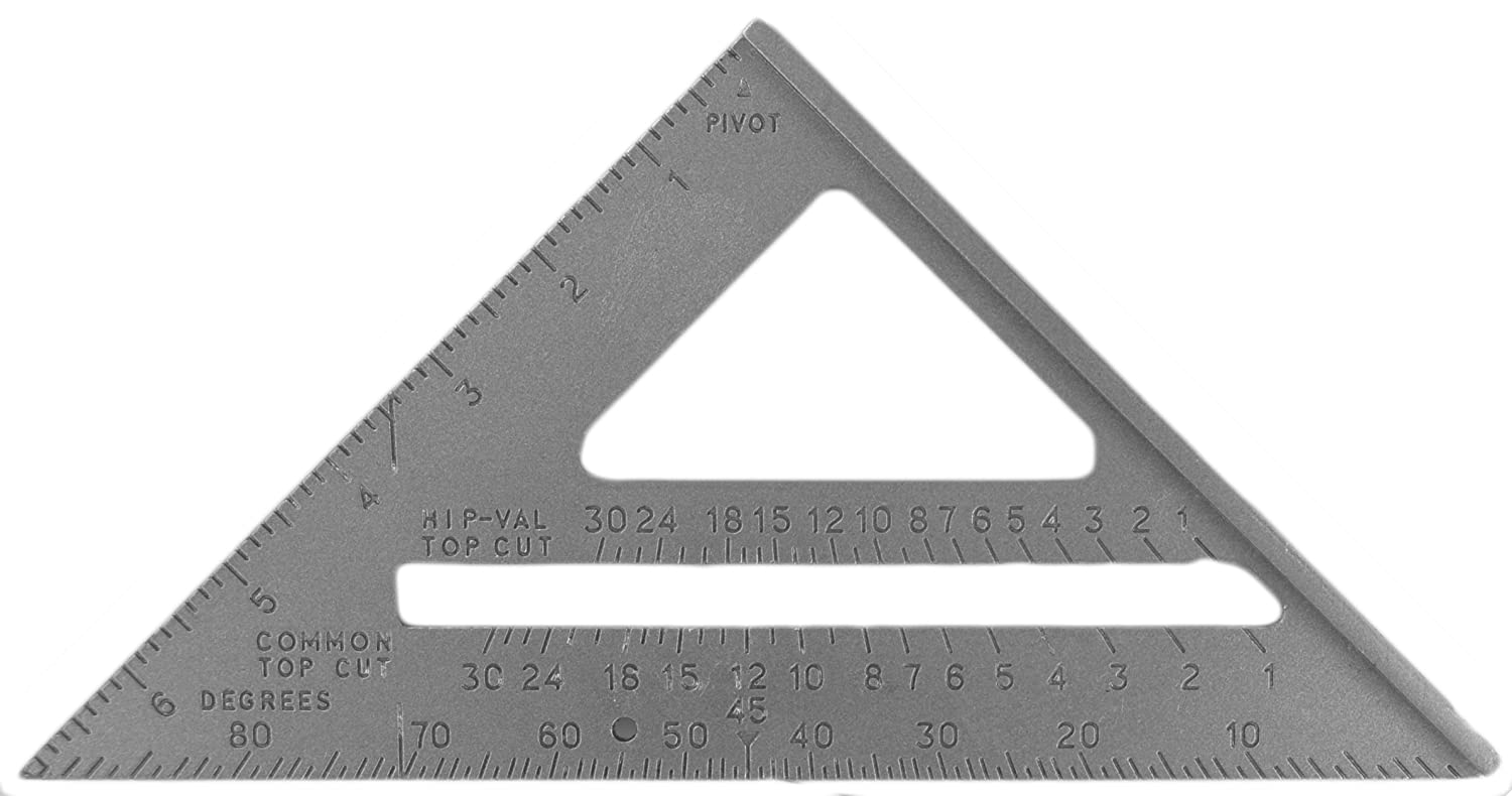 Century Drill and Tool 72896 Rafter Angle Square 7 Inch