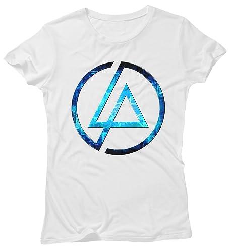 T-shirt Donna Linkin Park Futuristic Logo - Maglietta 100% cotone LaMAGLIERIA