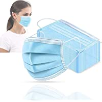 Personal Outdoor Face Mouth Masks - 50 Pack/Box