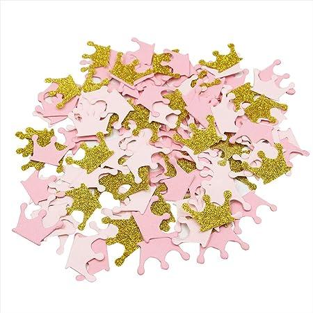 s choose your color table scatter scrapbooking Princess Tiara image 100 piece confetti