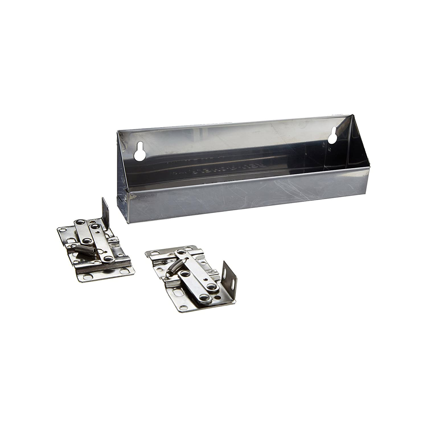 Rev-A-Shelf 6541-10-52 10 Stainless Tip Out Sink Front Tray, Silver