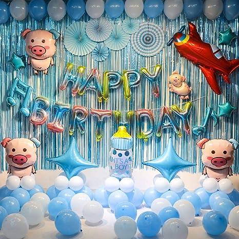 FIREYANG Decoracion Bebé Cumpleaños Cumpleaños Decoración ...