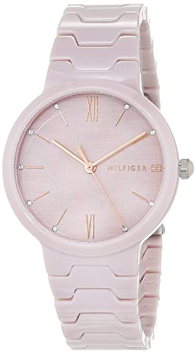 Tommy Hilfiger Reloj Analógico para Mujer de Cuarzo con Correa en Cerámica 1781957: Amazon.es: Relojes