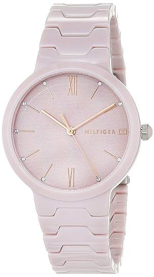 Tommy Hilfiger Reloj Analógico para Mujer de Cuarzo con Correa en Cerámica  1781957  Amazon.es  Relojes 47204d746eda