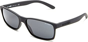 Arnette Mens Slickster AN4185-08 Rectangular Sunglasses