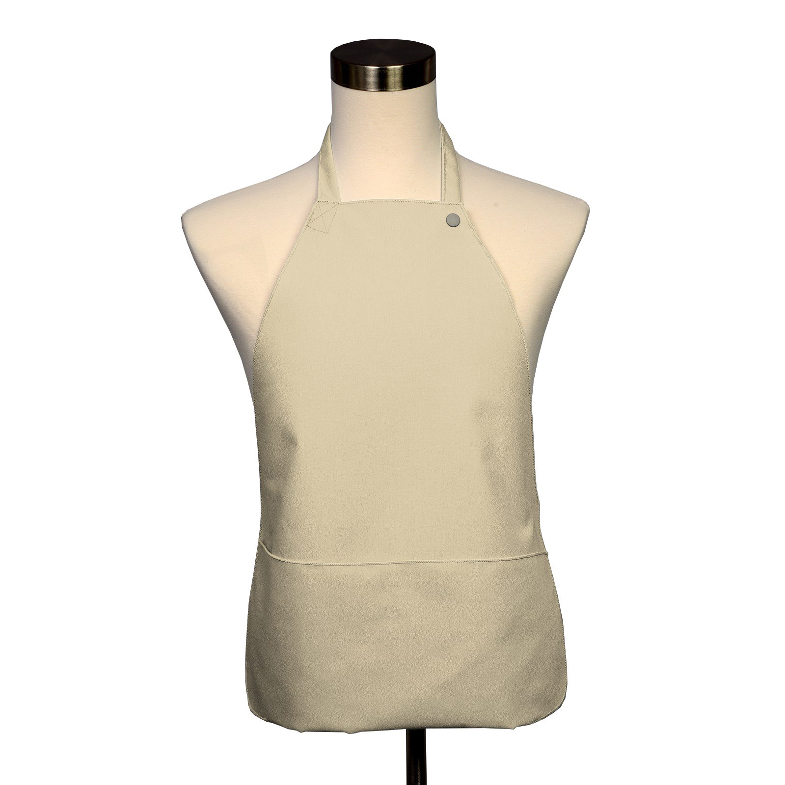 Adult Bib 25 Pack - Covered with Care Assorted Colors Available! (Ivory)