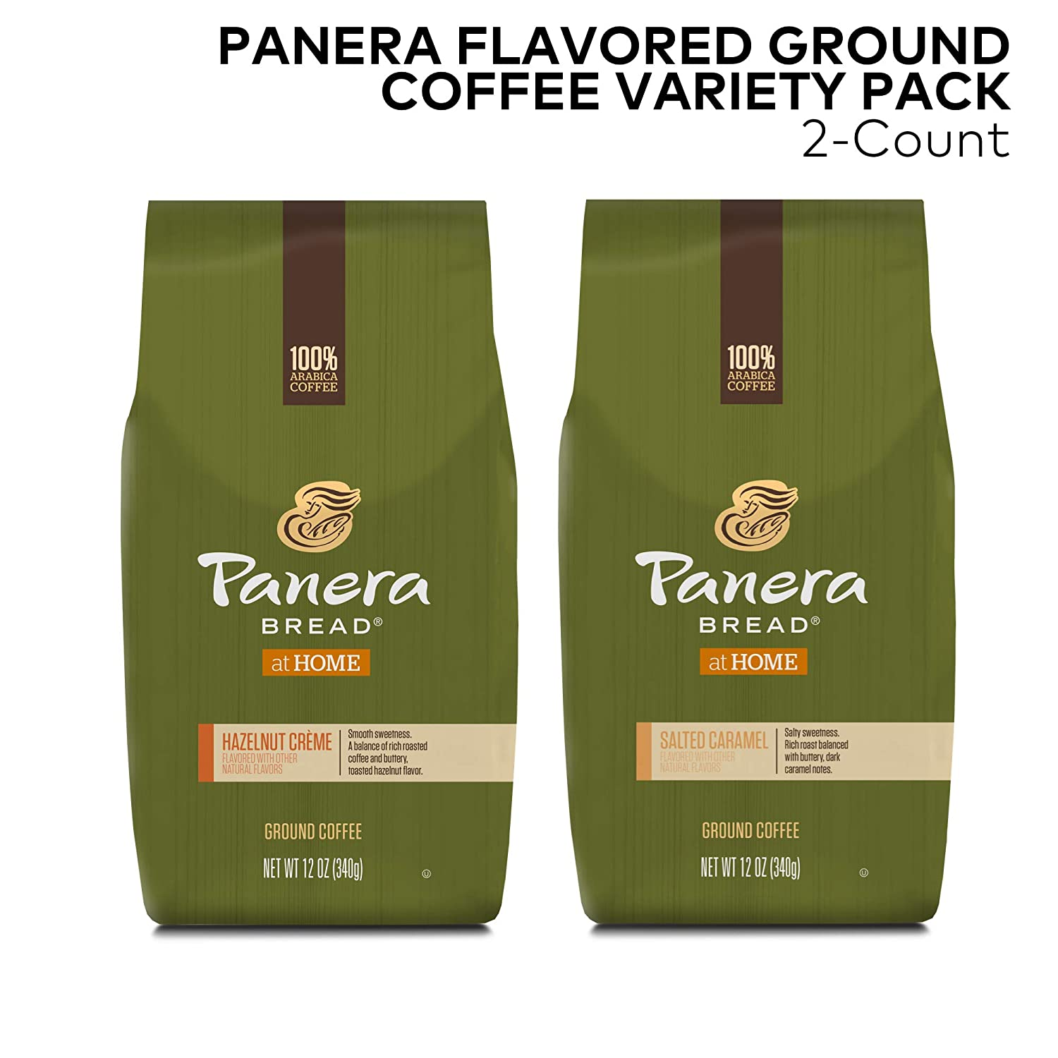 Panera Flavored Ground Coffee Variety Pack, 2 count