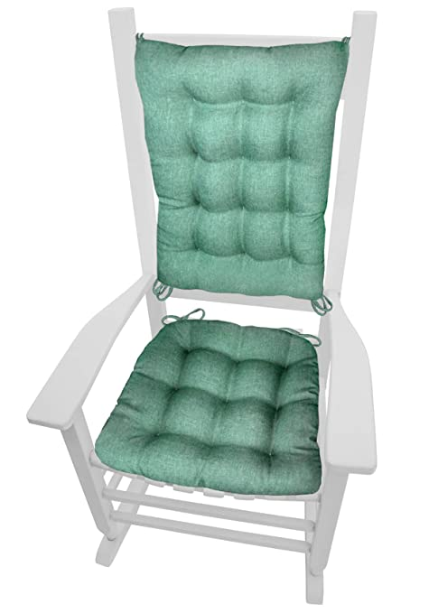 Attirant Barnett Products Rocking Chair Cushions   Hayden Turquoise   Size Extra  Large   Reversible,