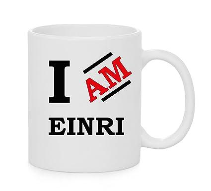 Amazoncom I Am Einri Official Mug Kitchen Dining