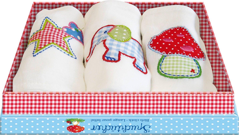 Spucktücher BabyGlück (3 St. sort.) Coppenrath SPKNG93978 Sonstige Textile Artikel Textilien