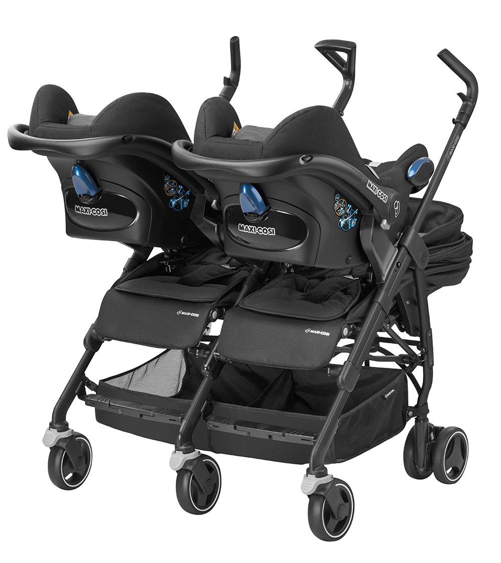 Kinderwagen zwillinge maxi cosi  Maxi-Cosi Dana für 2 - kompakter Geschwisterwagen und ...